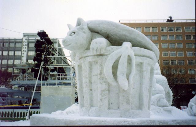 Sapporo snow sculpture